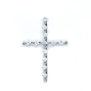 Chain Link Diamond Cross