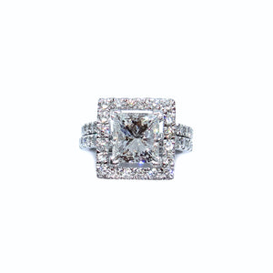 Princess Halo with Ring Guard - Johnny Jewelry