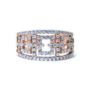 Art Deco Diamond Ring - Johnny Jewelry