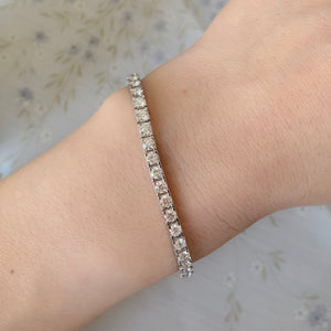 4.40CT TW Diamond Tennis Bracelet