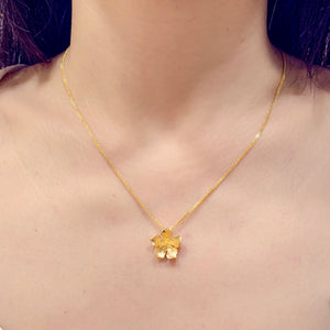 Bauhinia Flower Pendant - Johnny Jewelry