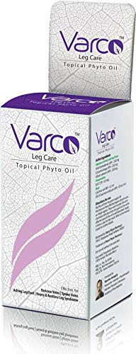 Varco Leg Care Topical Phyto Oil Therapeutic Phyto Varicose Veins, Topical Massage Oil For Leg Pain(60 Ml)