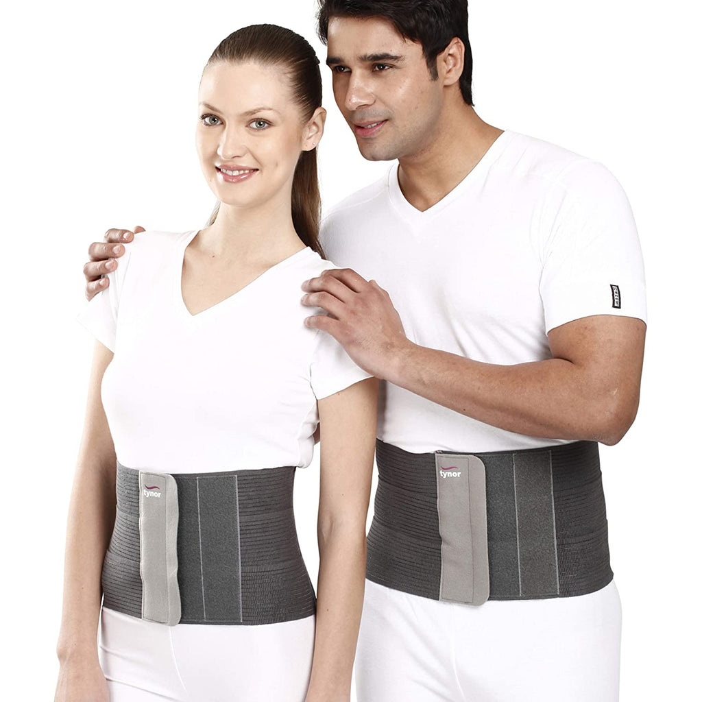 Tynor Tummy Trimmer/Abdominal Belt (compression & support to abdominal, Slimming-Men & Women)