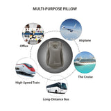 Shresmo Smart Inflatable Multipurpose, Innovative Pillow For Travel & Sleep Lovers, Portable Head Neck Rest Pillow For Full Support, Perfect For Flights, Cars, Buses, Trains, Office Napping, Camping.