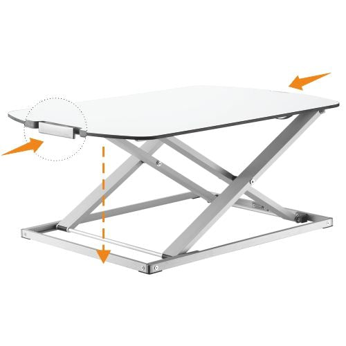 Defianz Height Adjustable Standing Desk - Ultra Slim - MAX
