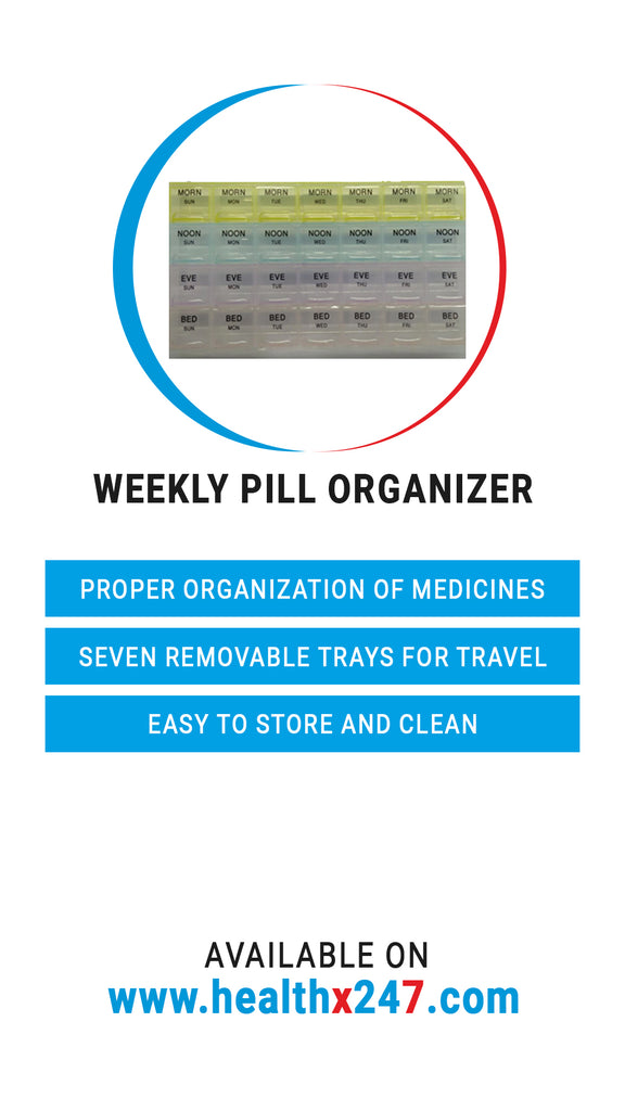Weekly Pill Organizer (4 Dose)