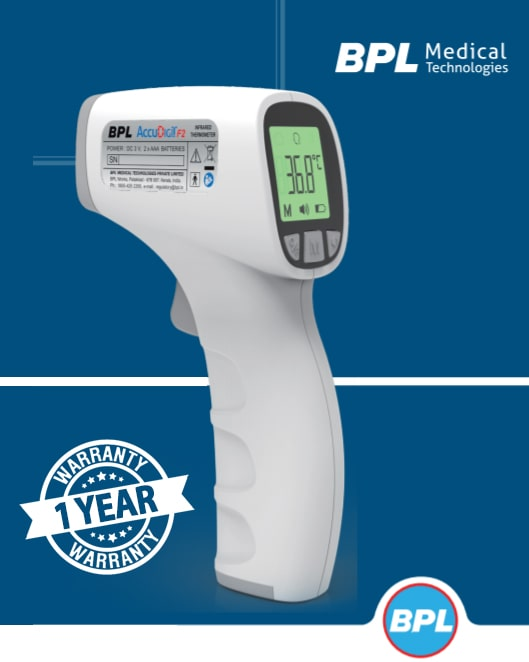 Bpl Accu-Digit F2 Infrared Thermometer