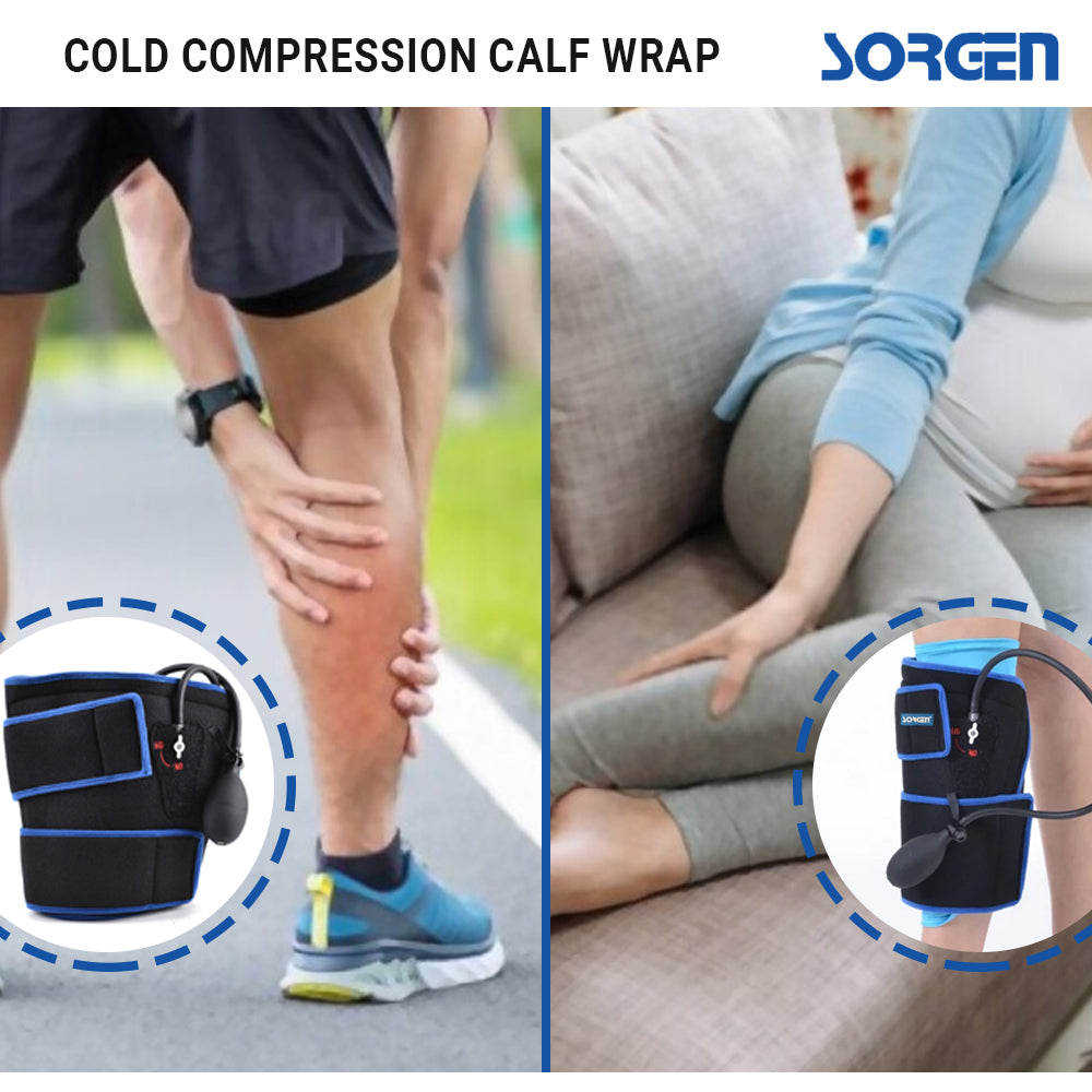 Sorgen Cold Compression Calf Brace / Wrap