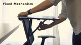 Defianz Chair Converting Mobile Standing Desk
