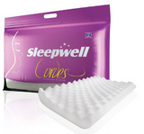 Sleepwell Foam Curves Contour Pillow (27x17inches)