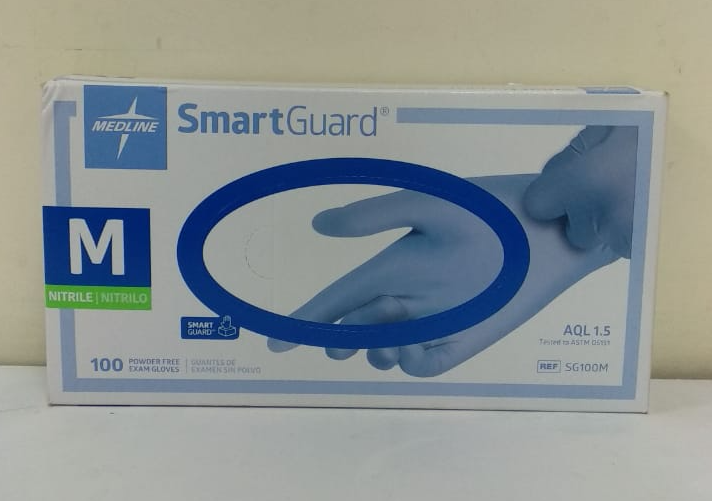 SmartGuard ® Powder Free Exam Nitrile Gloves - Medline