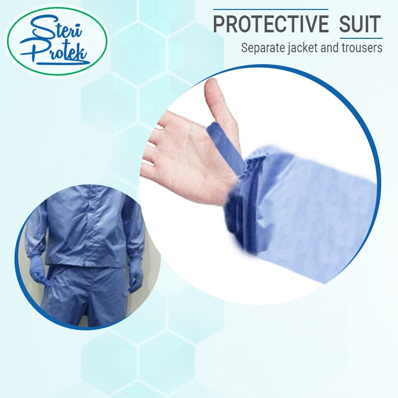 SteriProtek Reusable Protective Suit - Washable and Autoclavable for 75 times