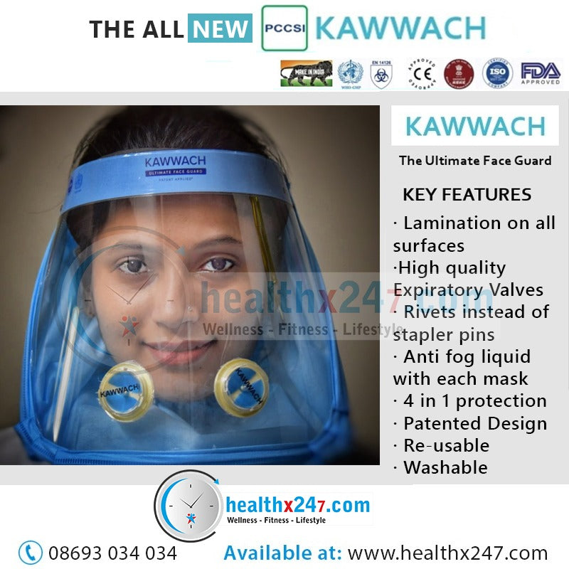 Kawwach- Ultimate Face Guard (Pack of 2)- UFG097