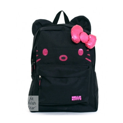 Loungefly Hello Kitty Black And Pink Backpack
