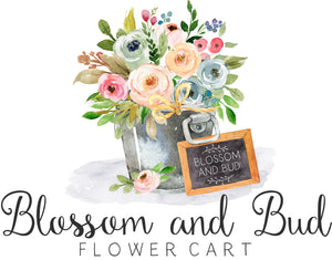 Blossom and Bud Flower Cart