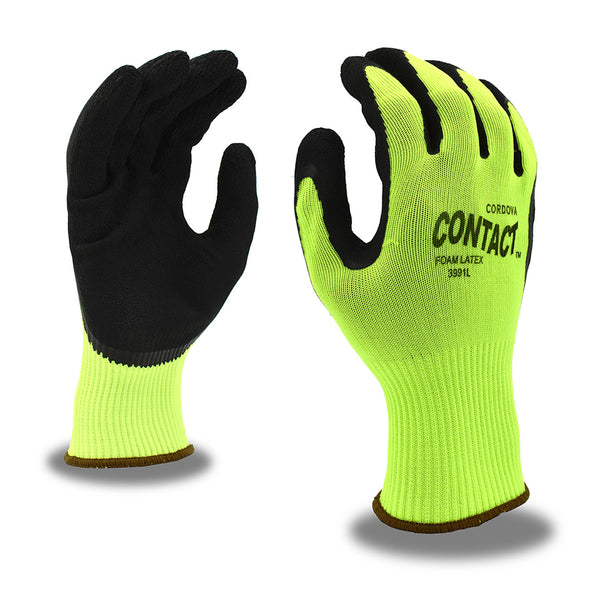 Contact™, Latex, Foam Gloves - 12 Pairs