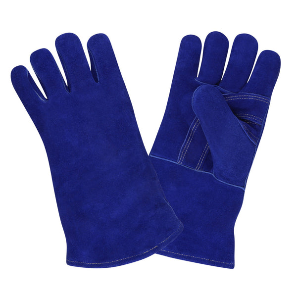 Premium Side Leather Welder Gloves, XL - 12 Pairs
