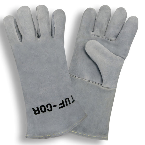 Tuf-Cor™ Select Shoulder Leather Welder Gloves, XL - 12 Pairs