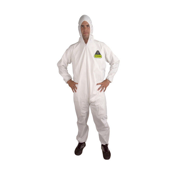 DEFENDER™ Microporous Hooded Coveralls - Case of 25
