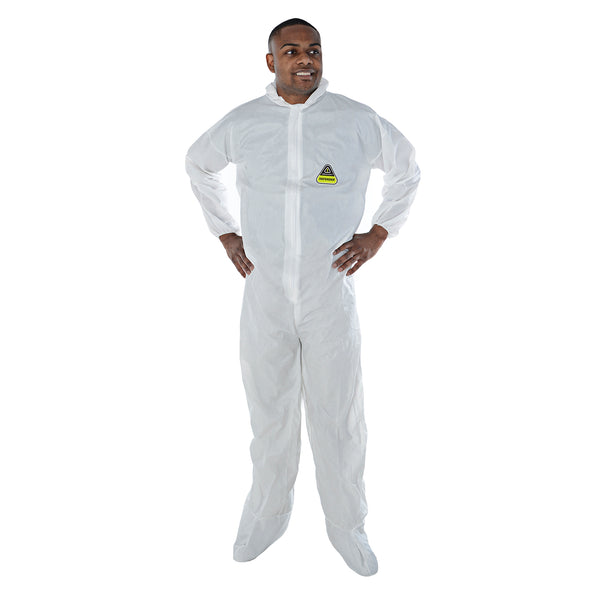 DEFENDER™ Microporous Hooded Coveralls