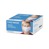 Disposable Ear-Loop 3-Ply Face Masks - Box of 50 Special Price!  $16.95