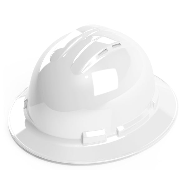 Duo Safety™ Full Brim Vented 4-Point Ratchet Hard Hat