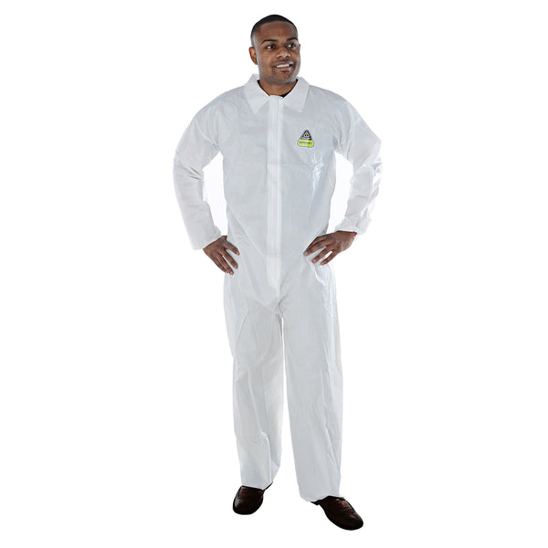 DEFENDER II™ Microporous Coveralls - Case of 25 OUT OF STOCK