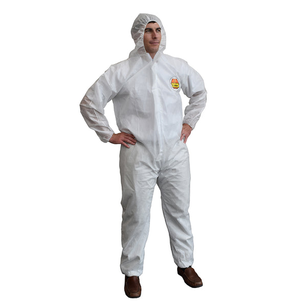 C-Max™ SMS Coveralls with Hood - Case of 25