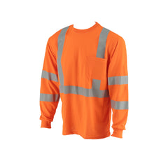 COR-BRITE™ Type R, Class 3, Hi-Vis Orange Long-Sleeve T-Shirt