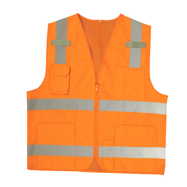COR-BRITE™ Type R, Class 2 Surveyors Vest - Orange