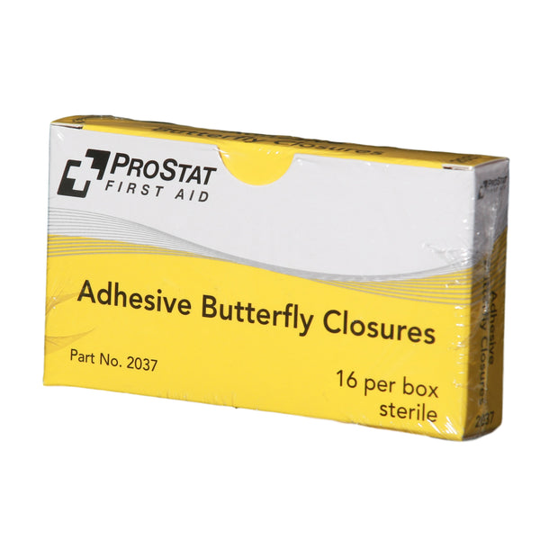 Adhesive Butterfly Closure Bandages - 16 Count