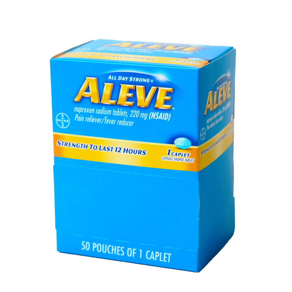 Aleve Dispenser Box - 50 Tablets