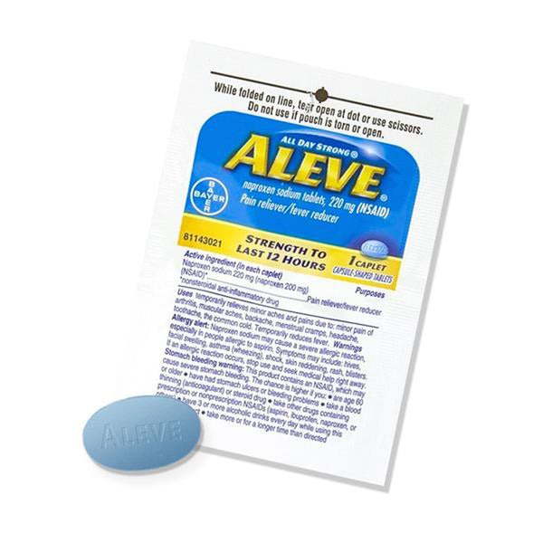 Aleve - 4 Single Dose Packets
