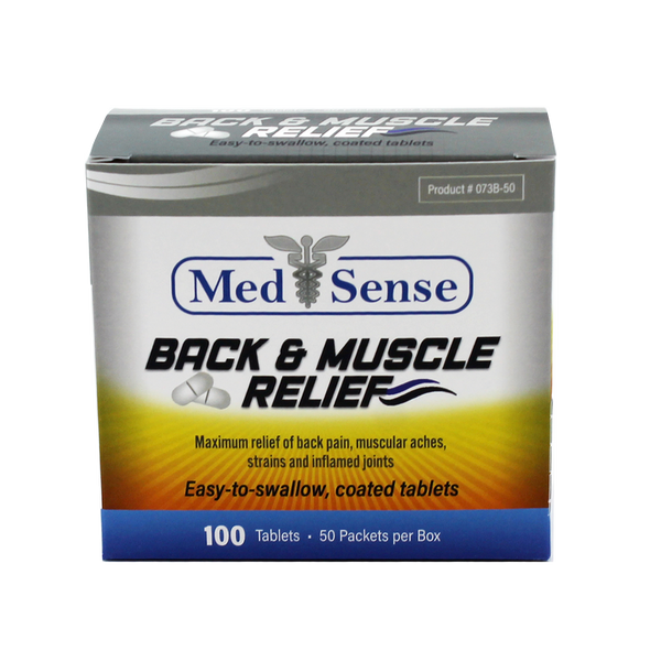 Back & Muscle Relief - 100 Tablets