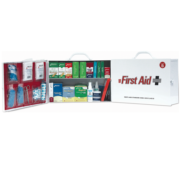 First Aid Cabinet - 2 Shelf - ANSI Class B