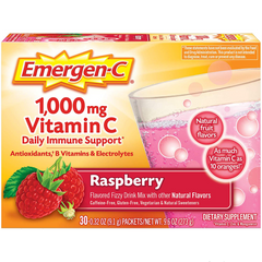 Emergen-C 1,000 mg Vitamin C Daily Immune Defense Supplement - 30 Packets