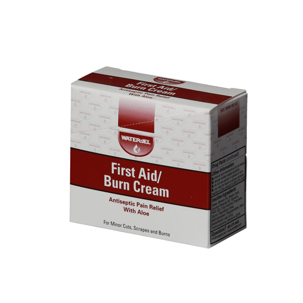 First Aid Burn Cream, 0.9 gm - 25 Per Box