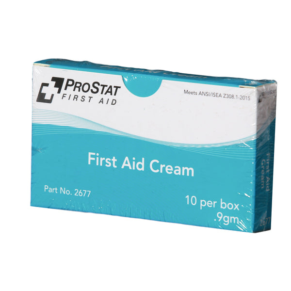 First Aid Cream, 0.9 gm - 10 Per Box