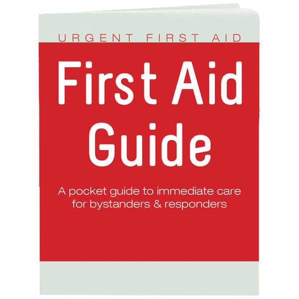 The Urgent First Aid™ First Aid Guide Booklet with CPR & AED