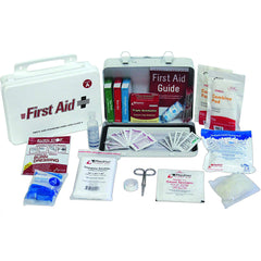 First Aid Truck Kit w/ Steel Case, ANSI Class A - 77 Pieces