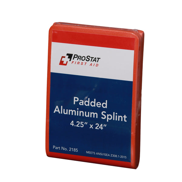 "Padded Aluminum Foam Splint, 4.25"" x 24"""