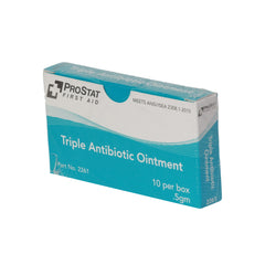 Triple Antibiotic Ointment, 0.5 gm - 10 Per Box