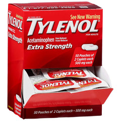Tylenol Extra Strength Dispenser Box - 100 Caplets $14.75!