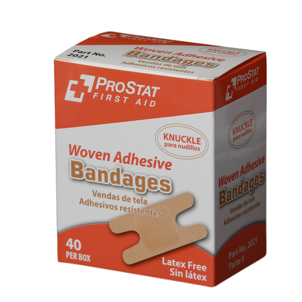 Woven Adhesive Knuckle Bandages - 40 Count