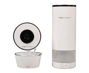 Video Camera with Amazon Alexa Unit - spy online australia - spy products - nanny cam - gps tracker - home security - home security camera - drones - hidden cam - spy cam - hidden camera - spy camera
