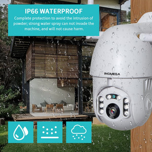 Waterproof Outdoor WiFi 1080P Wireless Auto tracking CCTV Security Surveillance - spy-online-australia