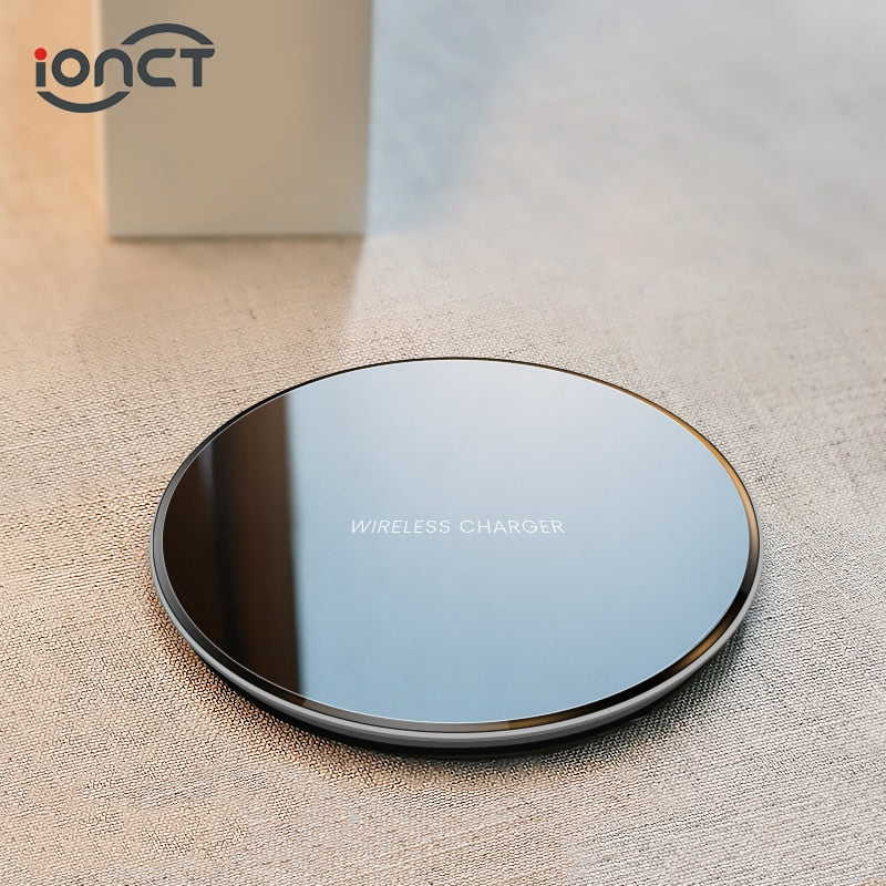 Wireless Charger for iPhone X XR XS Max 8 Samsung Xiaomi Huawei - spy online australia - spy products - nanny cam - gps tracker - home security - home security camera - drones - hidden cam - spy cam - hidden camera - spy camera