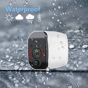 Camera Rechargeable Battery Powered 2.0MP HD Outdoor Wireless 1080P Wireless - spy-online-australia