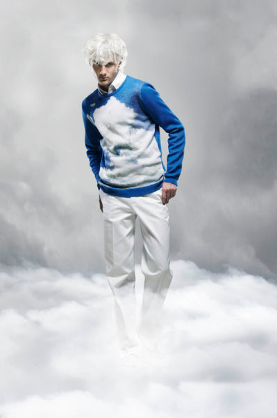 CLOUDS WEATHER SWEATER PHOTO BRENDA DE VRIES DESIGN CORNE GABRIELS