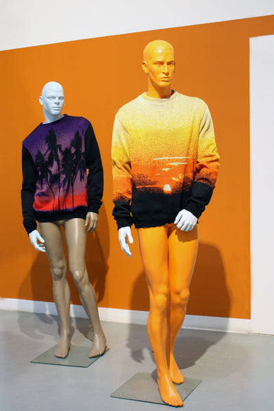 SUNSET PULLOVERS KNITWEAR DROOG DESIGN CORNE GABRIELS